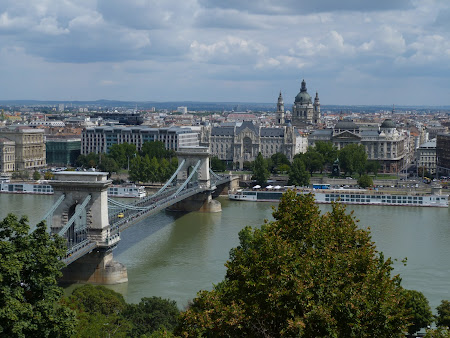 Obiective turistice Ungaria: panorama Budapesta