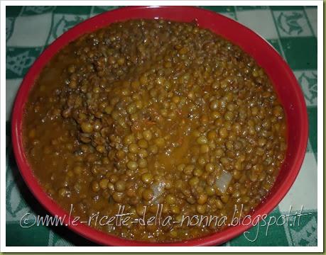 Lenticchie di Colfiorito con cipolla e pomodoro (8)