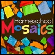 Homeschool Mosaics Button