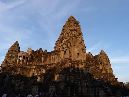 Obiective turistice Cambogia: ultimul etaj Angkor Wat