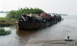Une embarcation sur le fleuve Congo (Archives).