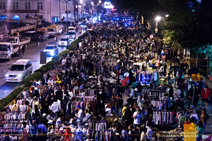 Jampacked at Baguio's Weekend Night Market