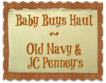 Baby Buys Haul | NewMamaDiaries.blogspot.com