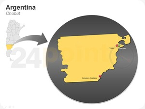 chubut-map-of-argentina-powerpoint-slides