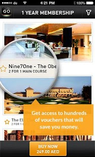 Twoforone GO: Coupon Offers - screenshot thumbnail