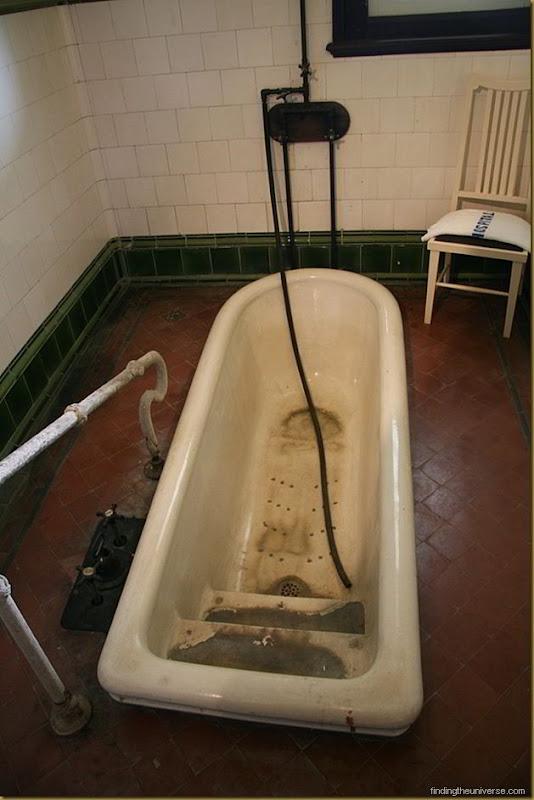 Bath in the Rotorua museum. Mmmm. Healthy