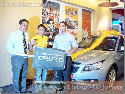 Mr. Ruel Parma, Grand Prize Winner
