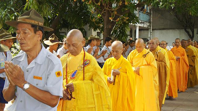 DSC06338 Lễ Hiệp kỵ   Lễ Huý Nhật Cư sĩ Sáng lập viên GĐPT Việt Nam   Tâm Minh Lê Đình Thám