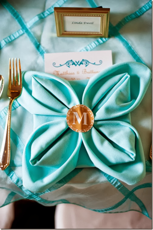 Southern Wedding Turquoise Linens