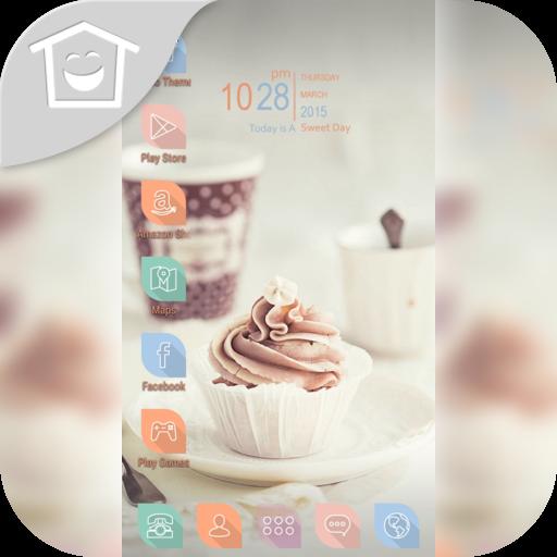 輕鬆的下午茶咖啡主題 個人化 App LOGO-硬是要APP