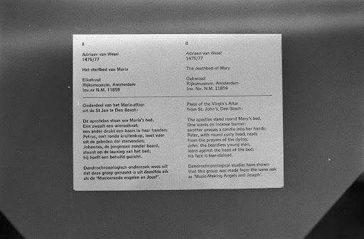 Informatiepaneel Rijksmuseum Afdeling Beeld Google Arts