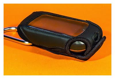 GPS-Halterung: Mein Test - Garmin Bag mit Oregon 600 von der Seite
