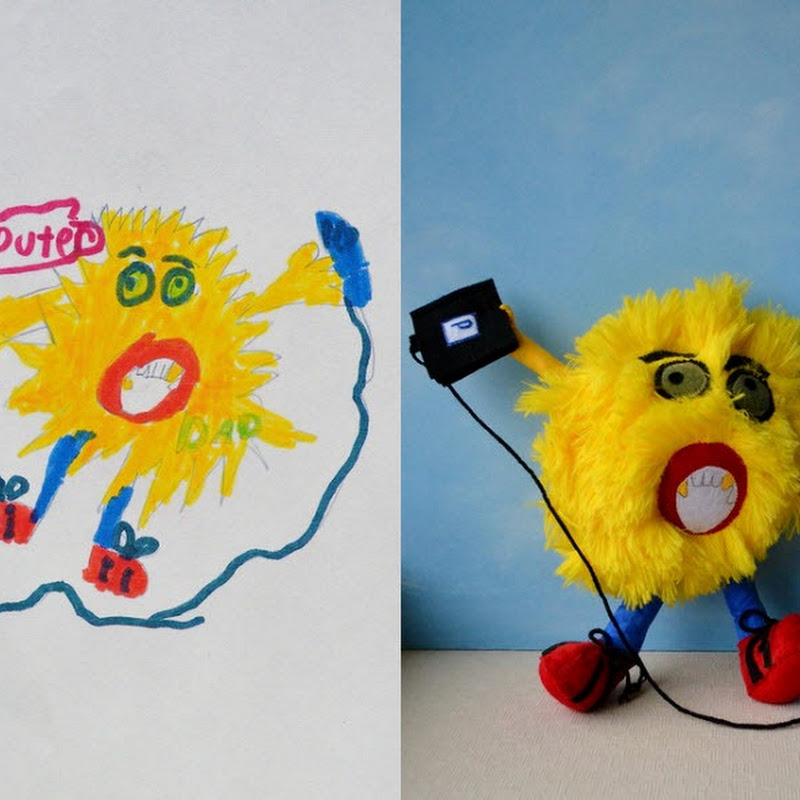 Wendy Tsao Turns Children's Doodles Into Real Toys