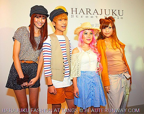 Harajuku Fashion Street Style QiuTing, Ben, Xia Xue, CheesieTANGS STYLESPACE ON 4