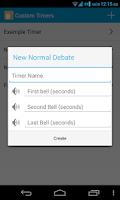 Screenshot of Debate Timer