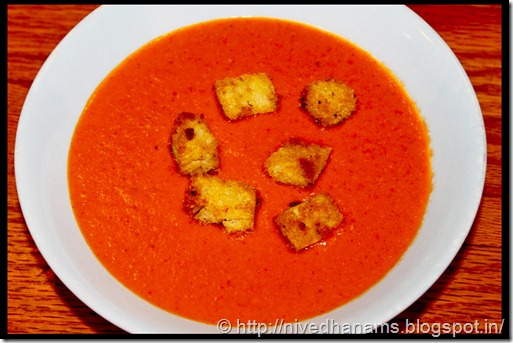 Cream of Tomato Soup - IMG_8813