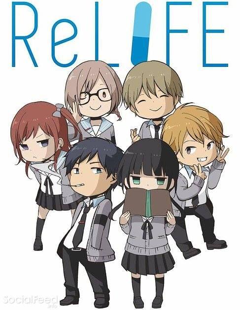 socialfeed.info anime moi relife link relife duoc chuyen the tu web manga cung [Review anime] Relife   trưởng thành lên.