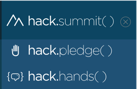 hack.summit()