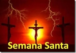 Cristo, Dimas e Agesta em suas cruzes