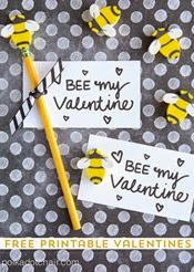 Polka Dot Chair - Bee My Valentine