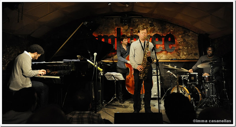 Chris Potter Quartet, Barcelona 2012