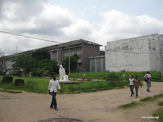 Une vue du site de l'Université de Kinshasa (Unikin), 18/01/2011.