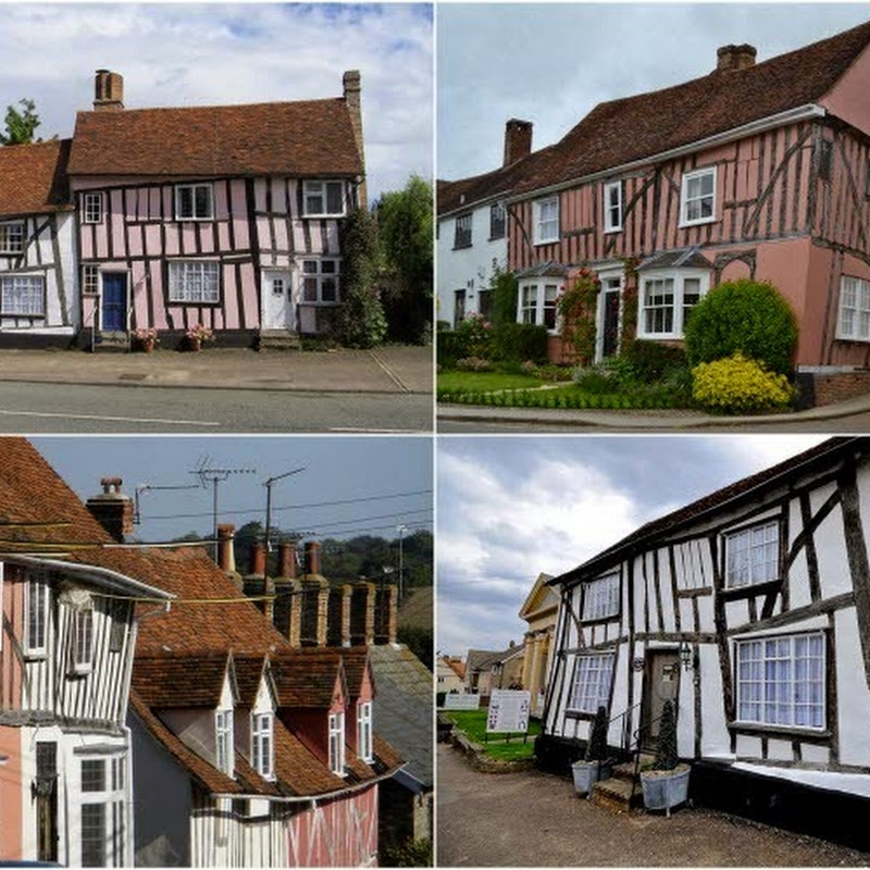 The Crooked Houses of Lavenham