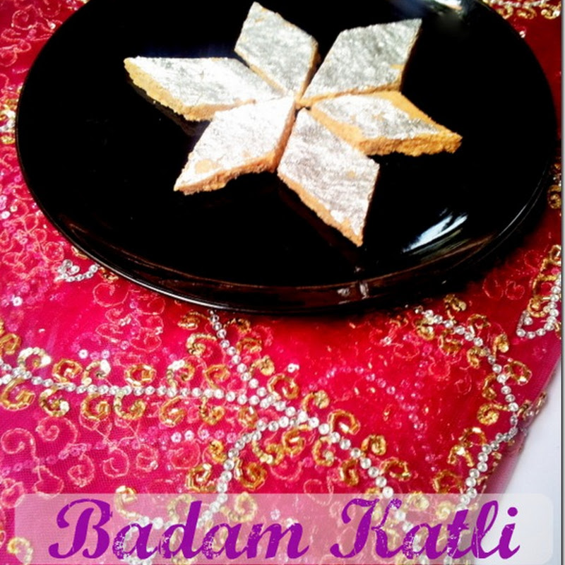 Badam Katli | Burfi | Almond Fudge | Diwali Recipes