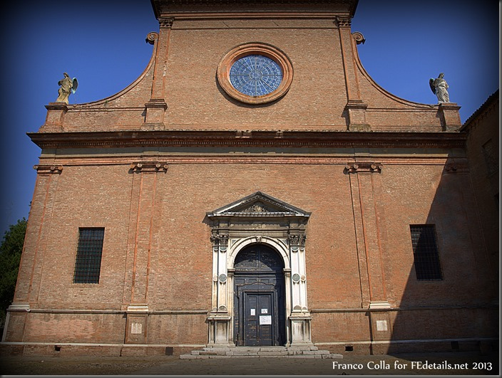 La chiesa di Santa Maria in Vado, Ferrara, Italia, foto2 - The church of Santa Maria in Vado, Ferrara, Italy, photo2