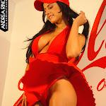 Andrea Rincon, Selena Spice Galeria 55 : Vestido Rojo y Tanga Roja – AndreaRincon.com Foto 30