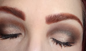 The Nude Mattes Eyeshadow Palette_look 1 eyes closed