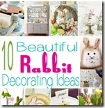 10 Beautiful rabbit decorating ideas