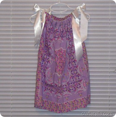 bandanna dress purple