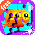 Wee Kids Puzzle Free icon