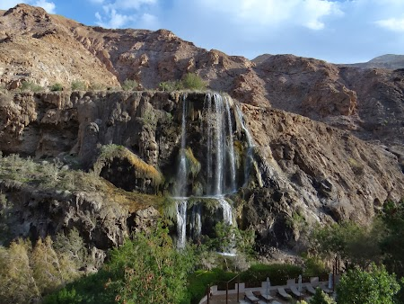 Obiective turistice - Iordania: Cascade Ma'in