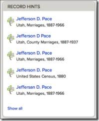 暗示即将推出家庭搜索系列树