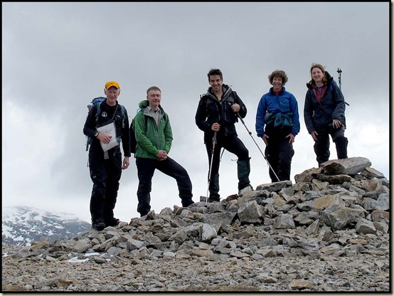 Group on Carn Aosda (917m)