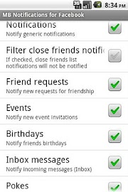 MB Notifications for Facebook Screenshot 2