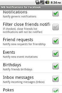 MB Notifications for Facebook Screenshot 2