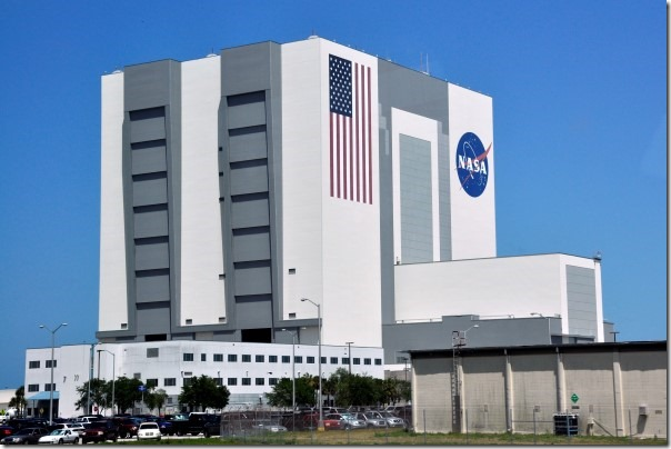 Het Vehicle Assembly Building (VAB)