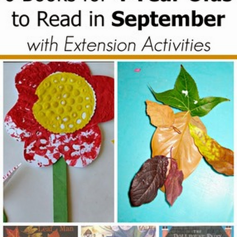 6 September Books for 4 Year Olds