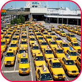 Airport Taxi Driving Parking