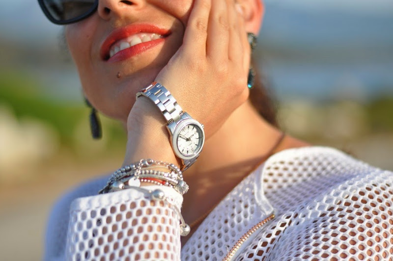outfit-fashion-blogger-milly-dress-casio-watch