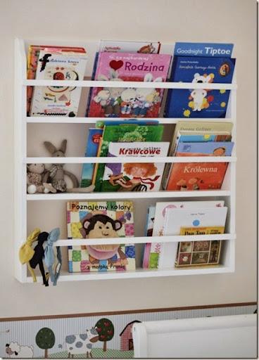 Trendy w pokoju dziecięcym: półka na książki conchitahome.pl