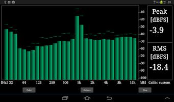 Screenshot of RTA Audio Analyzer