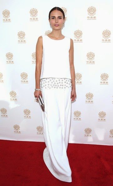 Jordana Brewster Arrivals Huading Film Awards