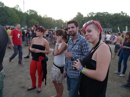 Imagini Ungaria: vizitatori la Sziget