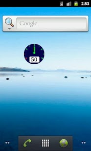 Gauge Battery Widget - screenshot thumbnail