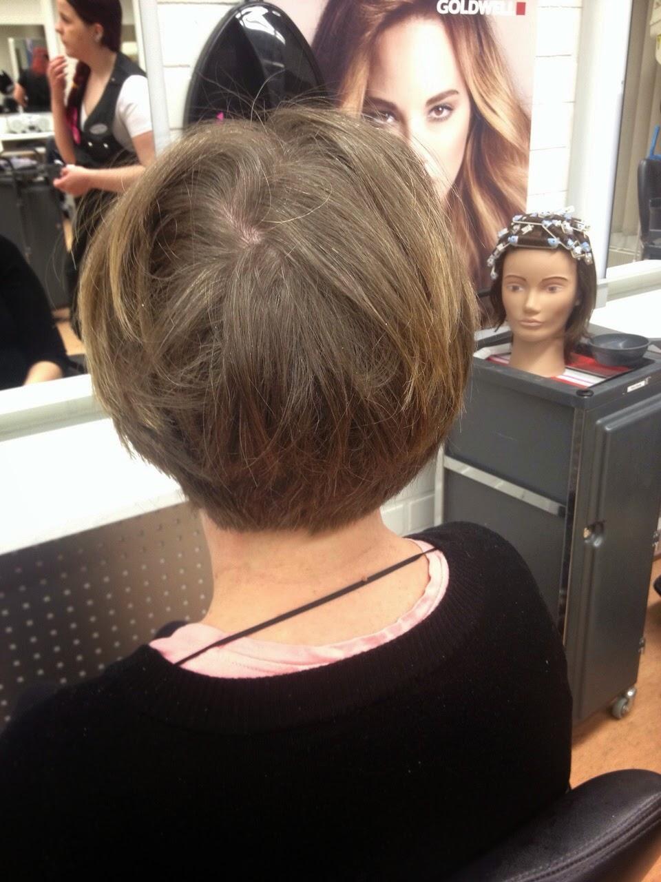 ohuiden hiusten värjäys