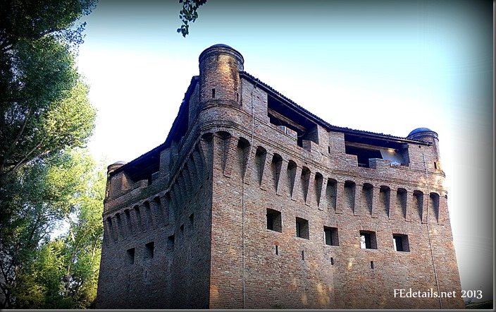 Rocca possente di Stellata - Mighty fortress of Stellata, Ferrara, Italy, photo1
